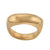 UNITY Large Ring in Gold Plated Silver