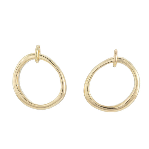 UNITY Stud Earrings in 9ct Gold