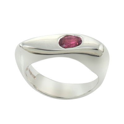 CELEBRATION RINGS Vision I Ring with Pink Tourmaline in Silver
