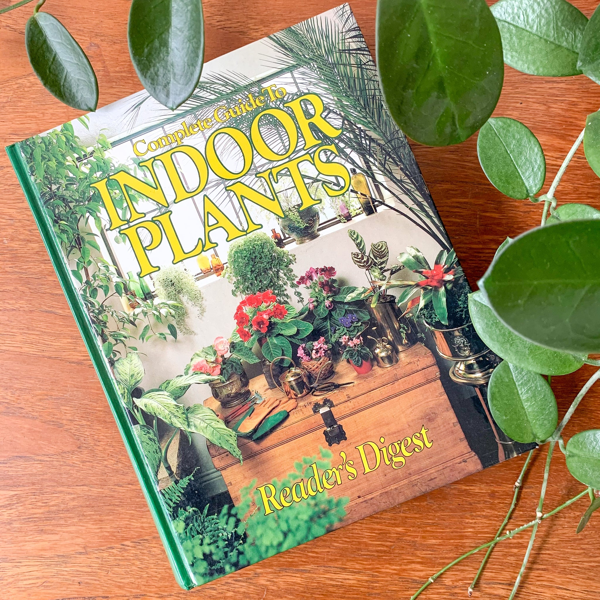 THE COMPLETE GUIDE TO INDOOR PLANTS by READER'S DIGEST - HEY JUDE WORKSHOP • Vintage furniture & wares.