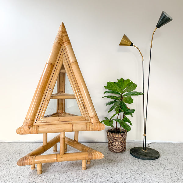 BAMBOO PYRAMID CABINET - HEY JUDE WORKSHOP