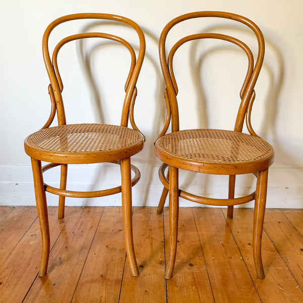 BENTWOOD RATTAN CHAIRS by MUNDUS - HEY JUDE WORKSHOP • Vintage furniture & wares.