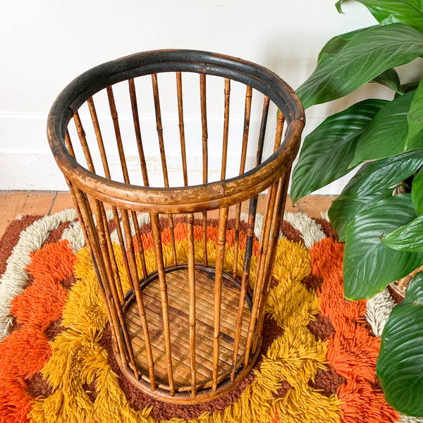 TIGER CANE UMBRELLA STAND - HEY JUDE WORKSHOP • Vintage furniture & wares.