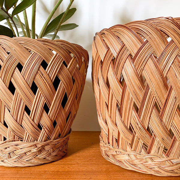 PLANTER BASKETS - HEY JUDE WORKSHOP • Vintage furniture & wares.