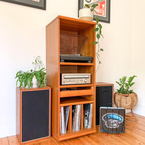 PARKER STEREO CABINET - HEY JUDE WORKSHOP • Vintage furniture & wares.