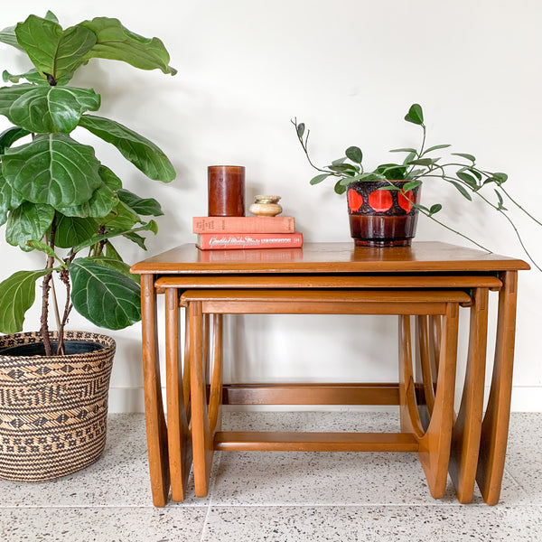 RATTAN COFFEE TABLE - HEY JUDE WORKSHOP • Vintage furniture & wares.