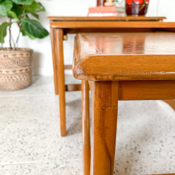 KALMAR NESTING TABLES - HEY JUDE WORKSHOP • Vintage furniture & wares.
