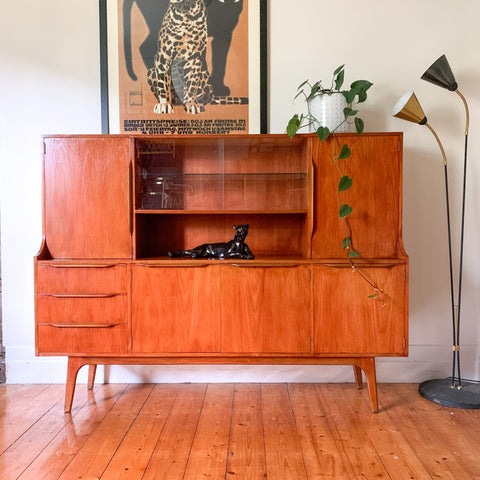 NOBLETT FURNITURE SIDEBOARD - HEY JUDE WORKSHOP • Vintage furniture & wares.