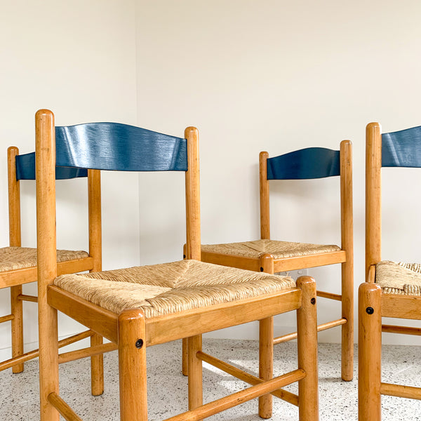 ITALIAN PAPER CORD DINING CHAIRS - HEY JUDE WORKSHOP • Vintage furniture & wares.