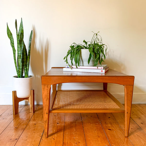JOHN GRIMES TEAK COFFEE TABLE - HEY JUDE WORKSHOP • Vintage furniture & wares.