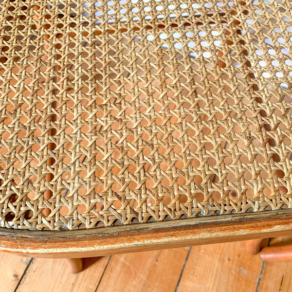 RATTAN BENTWOOD DINING CHAIRS - HEY JUDE WORKSHOP • Vintage furniture & wares.