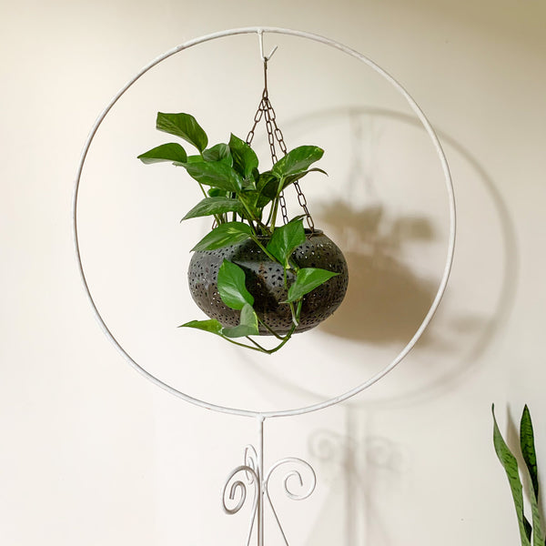 METAL BIRD CAGE HANGER - HEY JUDE WORKSHOP • Vintage furniture & wares.