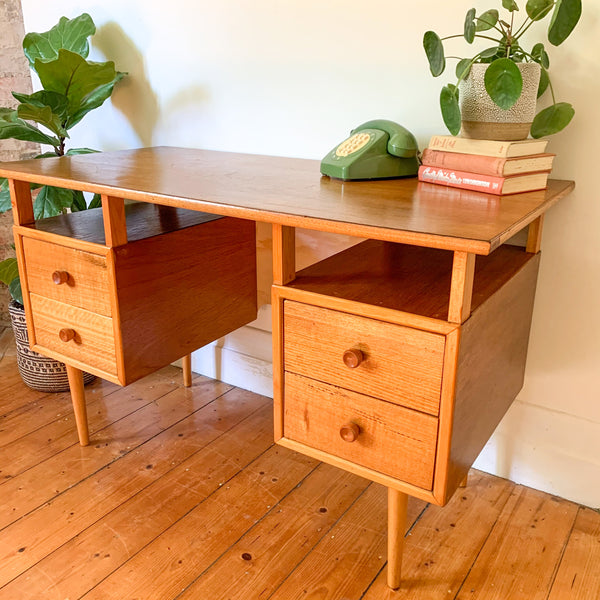 MID CENTURY DESK - HEY JUDE WORKSHOP • Vintage furniture & wares.