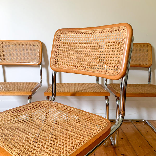 RATTAN CANTILEVER CHAIRS - HEY JUDE WORKSHOP • Vintage furniture & wares.