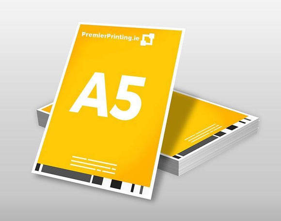 A5 Promotional Cards - PremierPrinting.ie