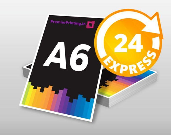 A6 Promotional Cards - PremierPrinting.ie