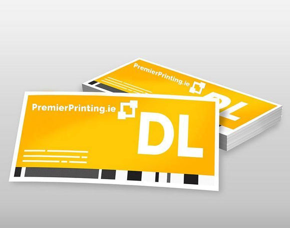 DL Promotional Cards - PremierPrinting.ie