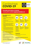Large Format Covid-19 Power To Stop Posters - PremierPrinting.ie