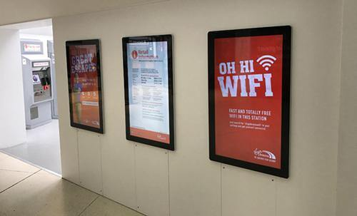 Android Advertising Displays - PremierPrinting.ie