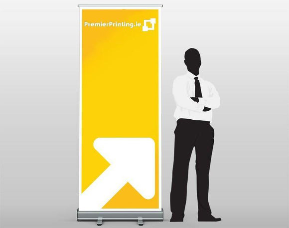 Premium Roll Up Banners - PremierPrinting.ie