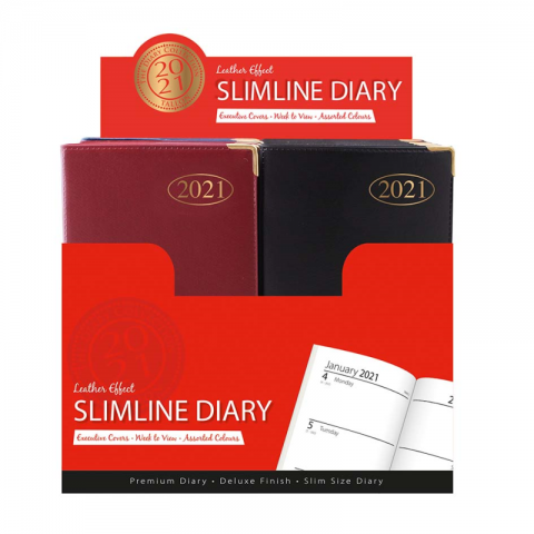 Slimline 2021 Pocket Diaries
