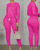 Pink Two Piece Sweat suit