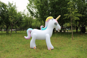 Unicorn Water Spray Pool Toys - Outdoor Fountain Beach Party Children's Summer Toys