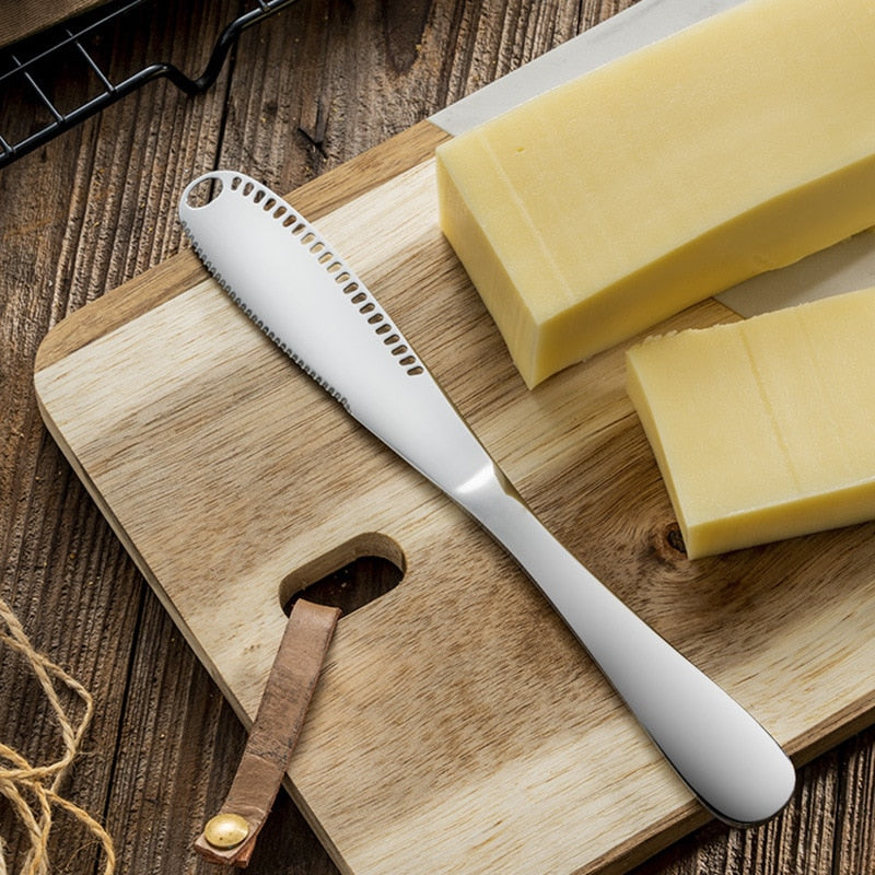 Stainless Steel Butter Knife - Cheese Dessert Jam Cream Knifes