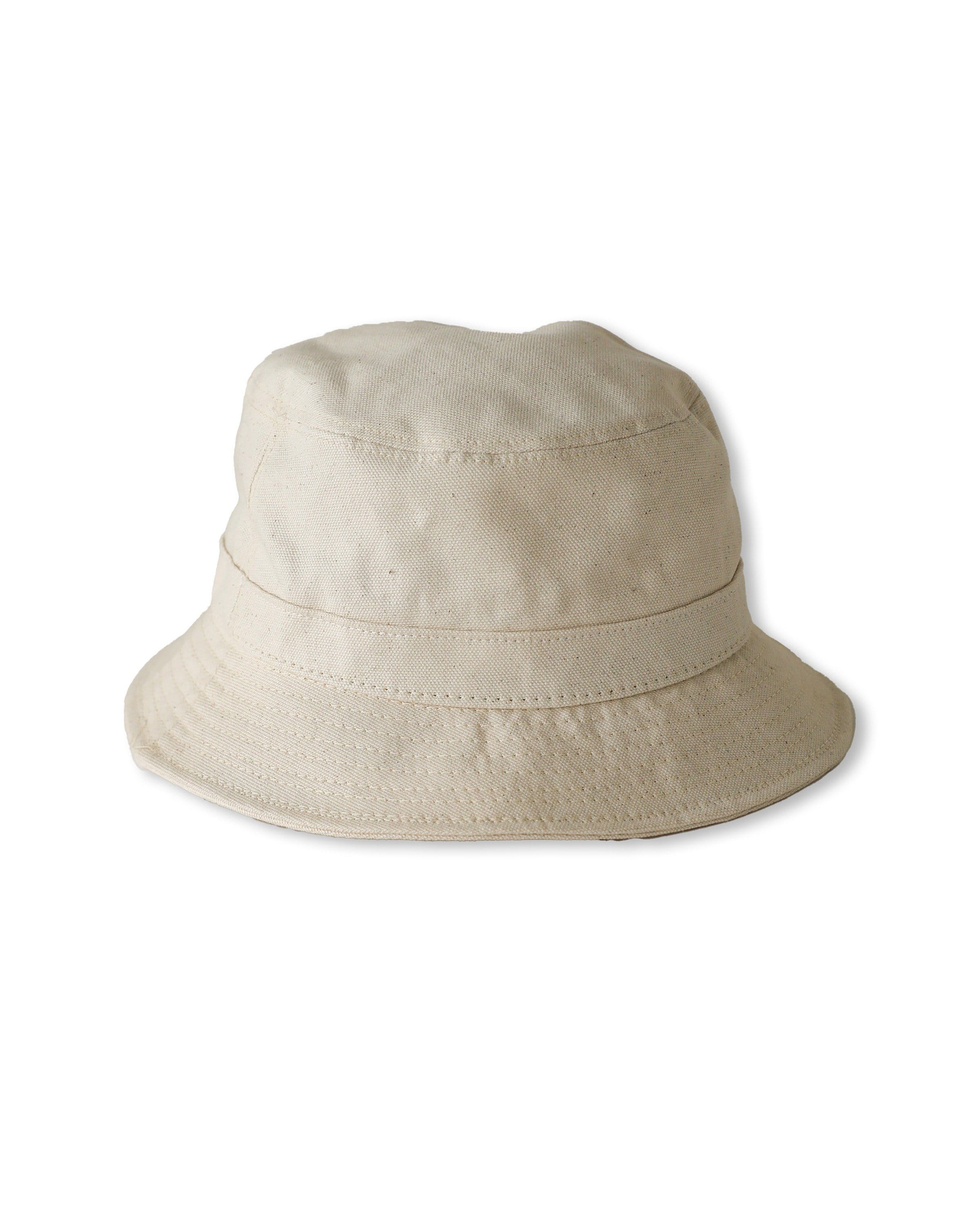Organic Canvas Bucket Hat - Natural