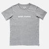 Label Tee - Heather Grey