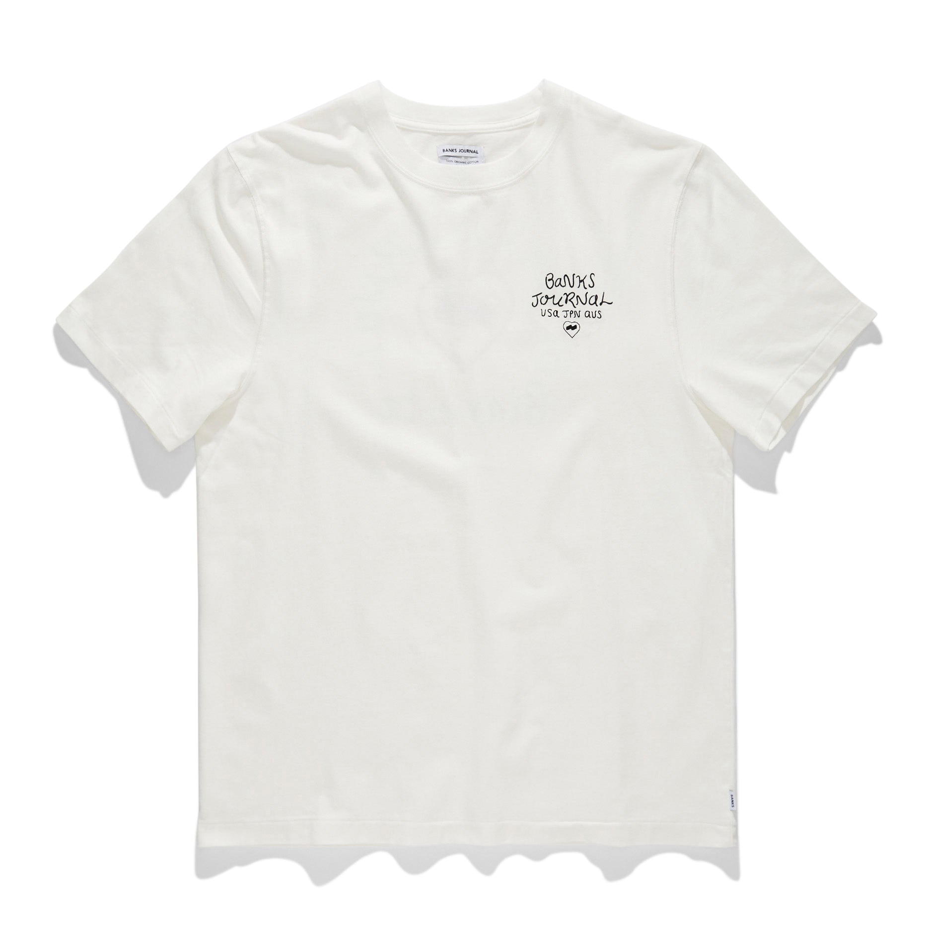 Heart Signs Tee - Off White