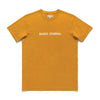 Label Tee - Saffron