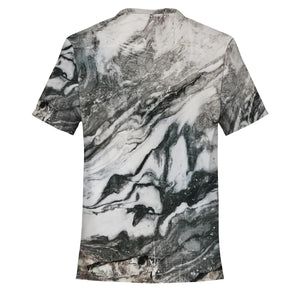 CULT WHITE MARBLE TEE