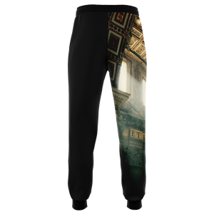 CULT MEN JOGGERS BLACK