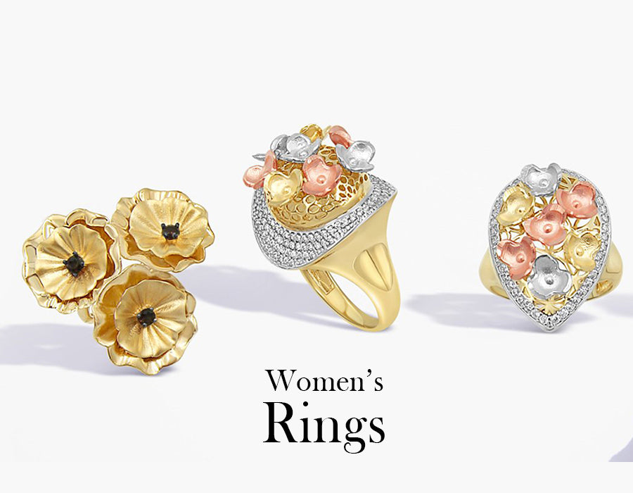 Womens Gold Rings