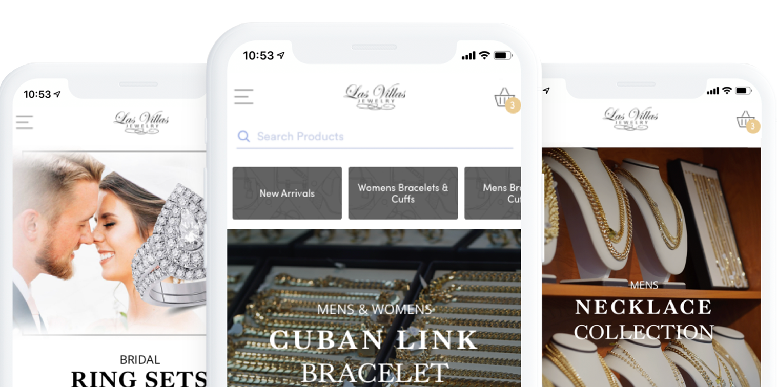 Las Villas Jewelry app now available