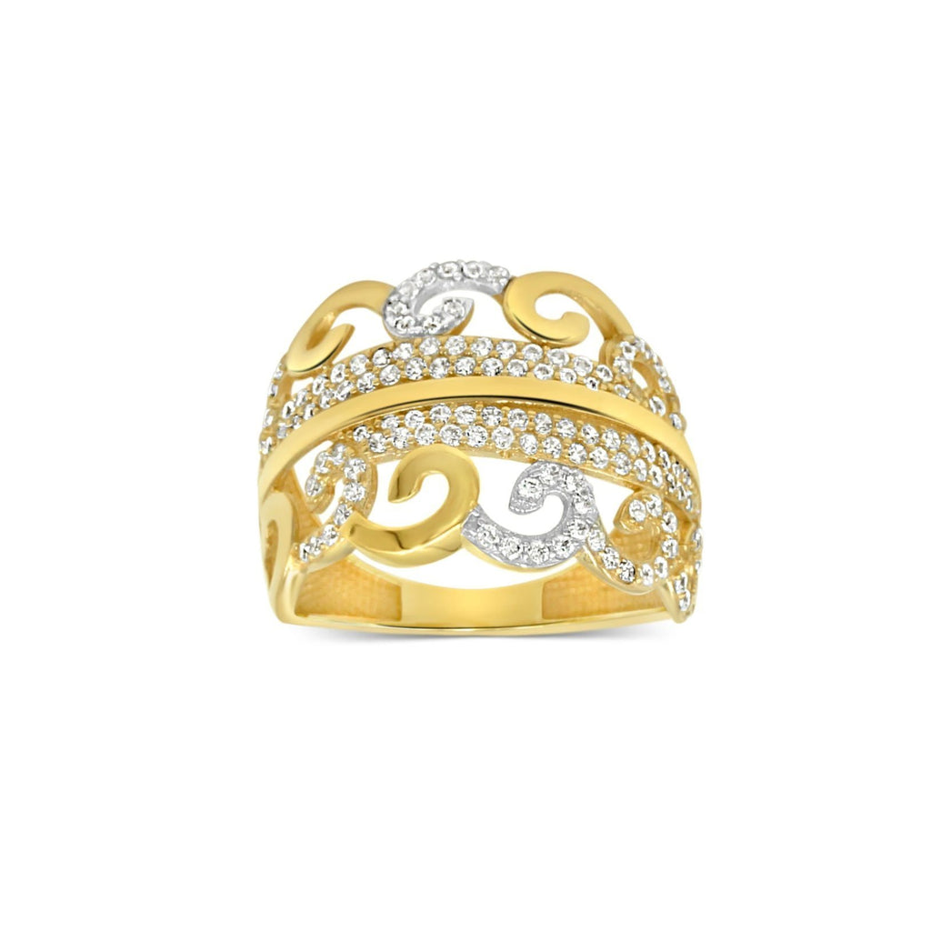 Las Villas Jewelry Womens Ring Women's Fashion 14kt Gold Ring