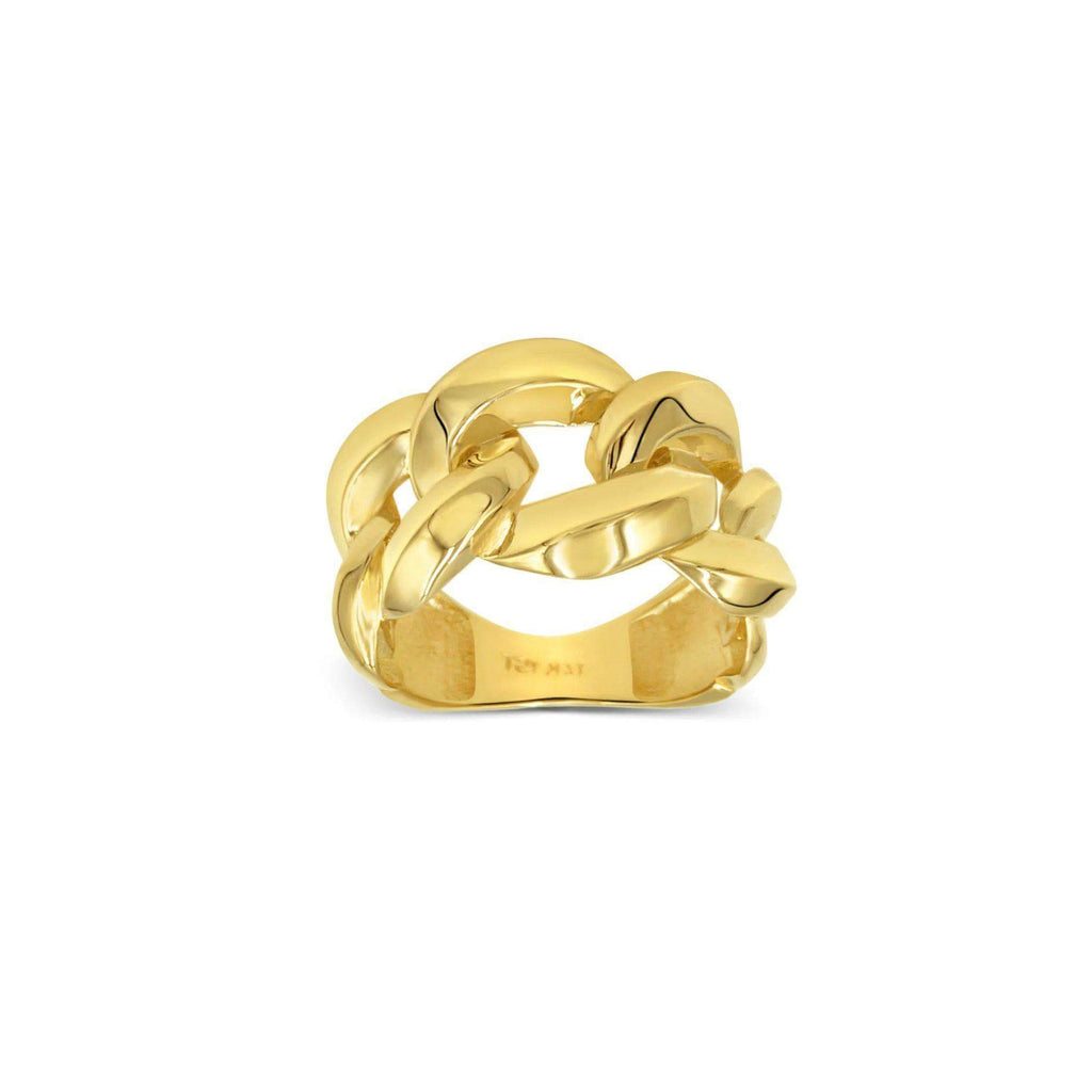 Women's Knot fashion Ring in 14kt Gold