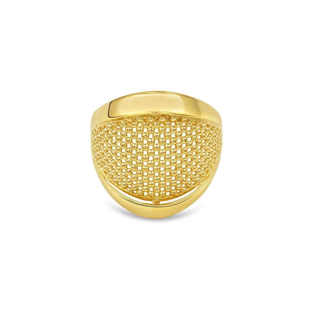 Las Villas Jewelry Womens Ring Women's Net Fashion 14kt Gold Ring