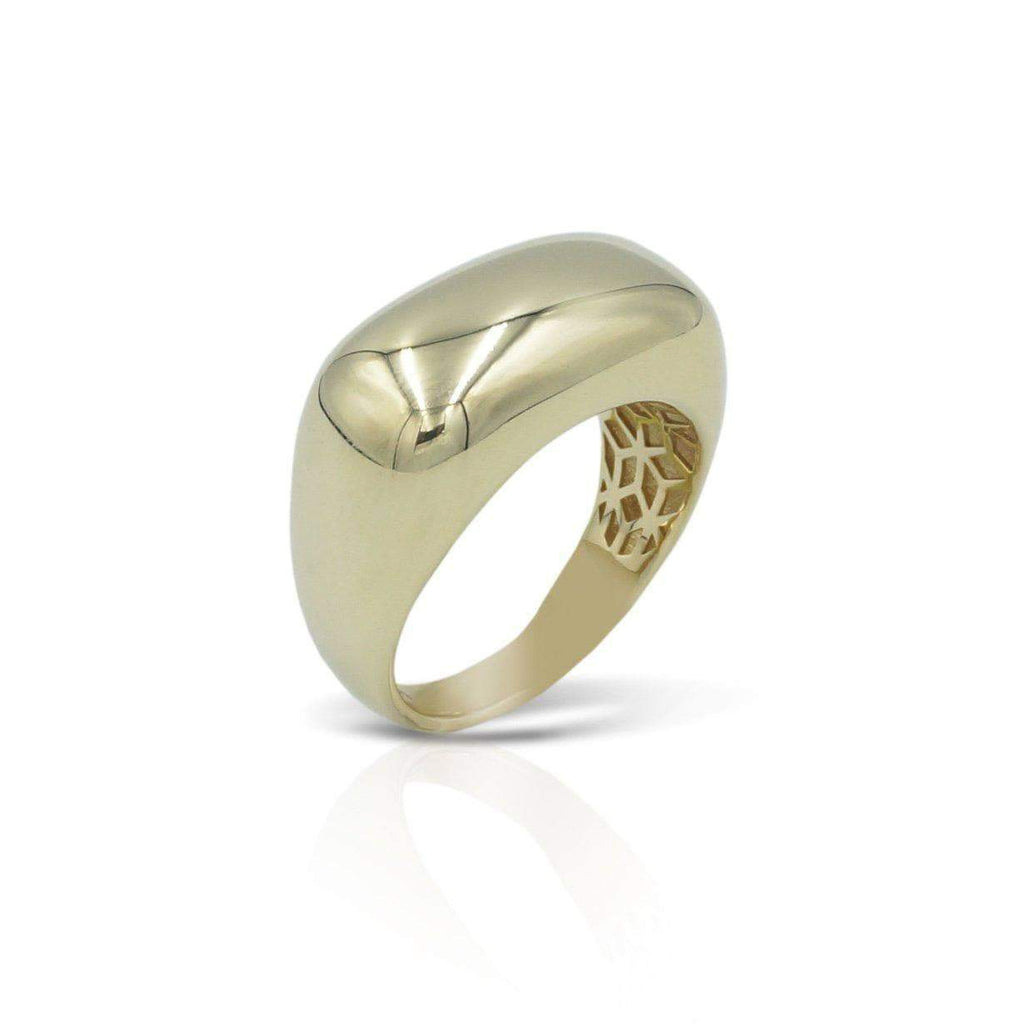 Las Villas Jewelry Womens Ring Womens Stylish Polished Ring in 14kt Gold
