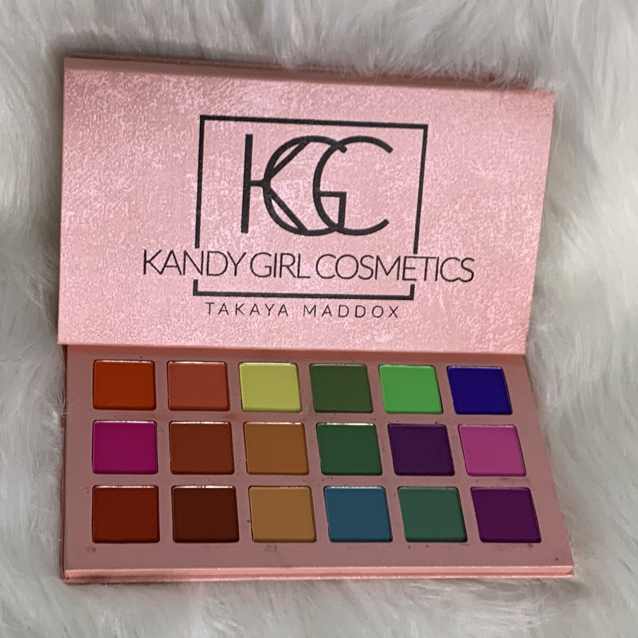 PINK BUBBLE GUM KANDY PALETTE