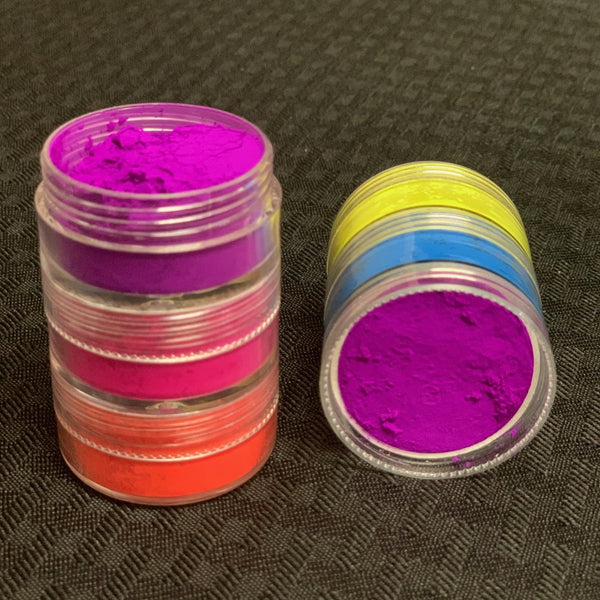 NEON LOOSE PIGMENT STACK (5 tier)