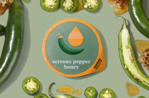 Serrano Pepper Honey Ricotta Cups