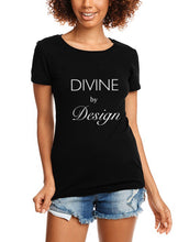 Load image into Gallery viewer, Divine By Design ss fitted t-shirt