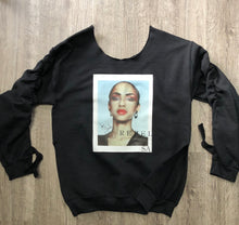 Load image into Gallery viewer, Iconic Mother's in history embellished sweatshirt
