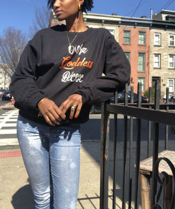 Goddess in color sweatshirt