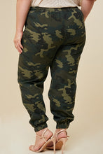 Load image into Gallery viewer, High Rise skinny cargo + Mid-Rise camo drawstring jogger
