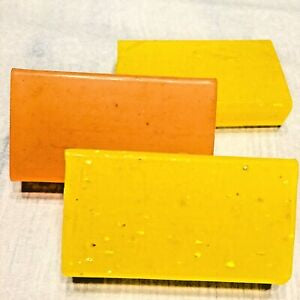 Bundle of 3 (mini loaf) glycerin fast dry soaps