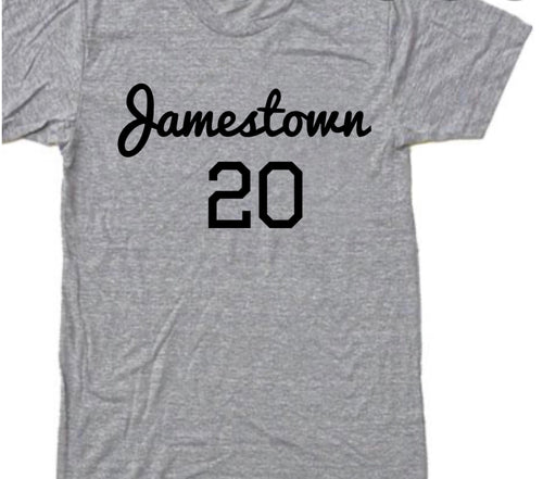 Jamestown 20+ (BHM inspired) crewneck t-shirts
