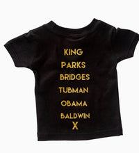 Load image into Gallery viewer, kids Historical Figures (BHM inspired) ss crewneck t-shirts